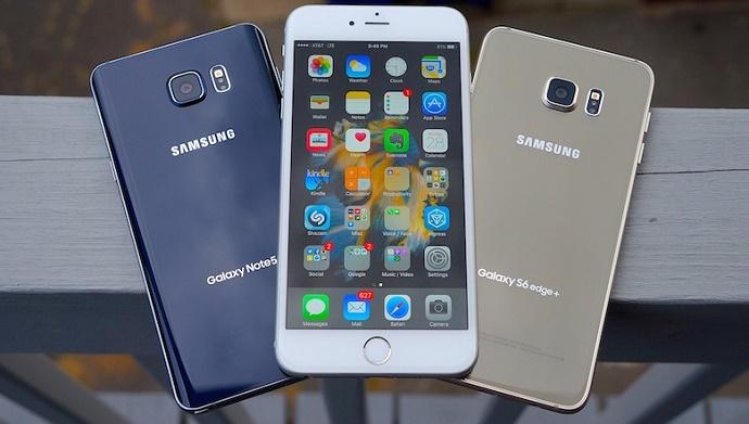 iphone 7 vượt mặt