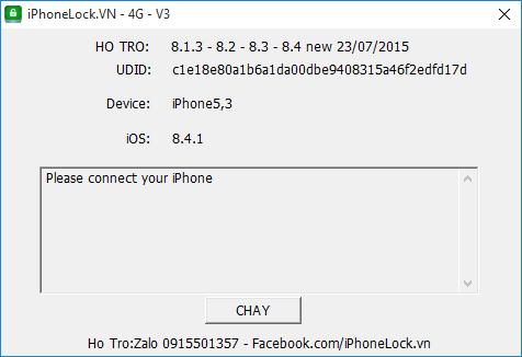 Thủ thuật sửa lỗi trên iPhone 5/5C/5S/6 Lock chạy iOS 8.4.1