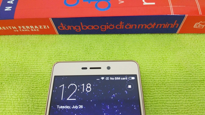 Camera trước Xiaomi Redmi 3S