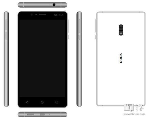 Nokia D1C trắng