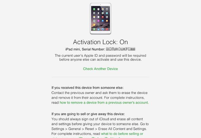 khóa iCloud