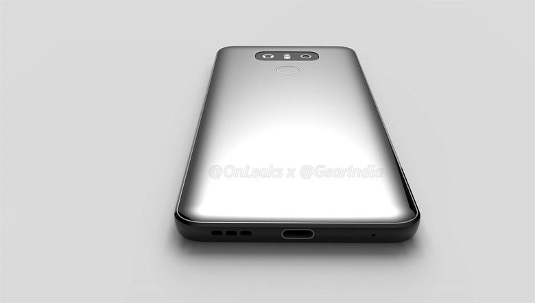 Thiết kế LG G6 2