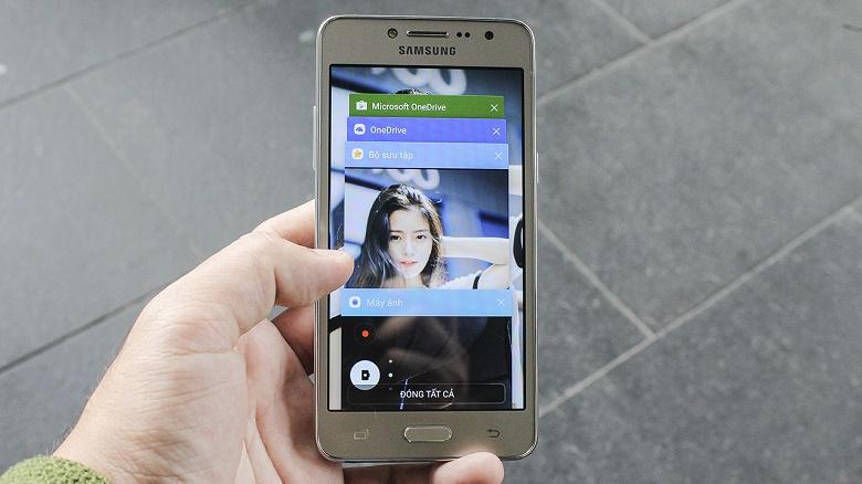 Đập hộp Samsung Galaxy J2 Prime 9