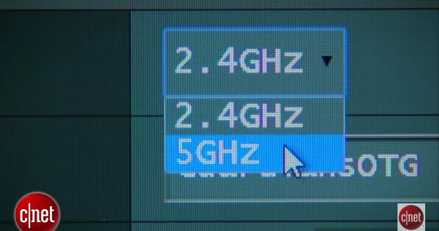 Sử dụng băng tần 5.0 Ghz