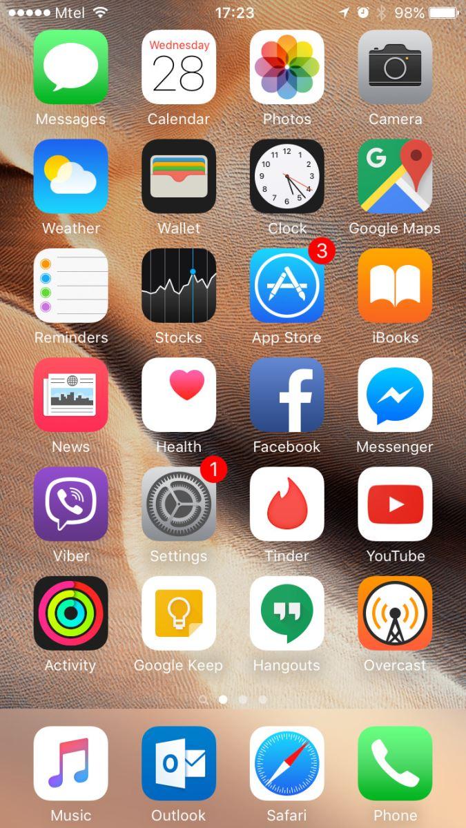 xóa lịch sử Safari trên iPhone 3