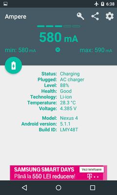 Thủ thuật kiểm tra chất lượng sạc chuẩn của thiết bị Android