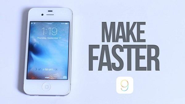 tăng tốc thiết bị iPhone Jailbreak