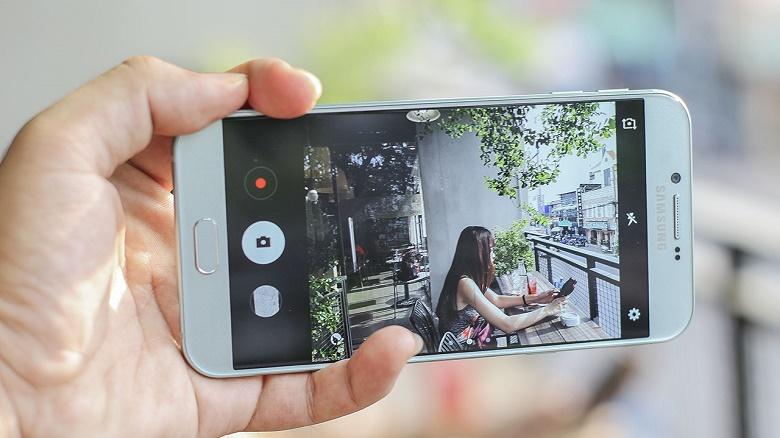 Trên tay Samsung Galaxy A8 2016 6