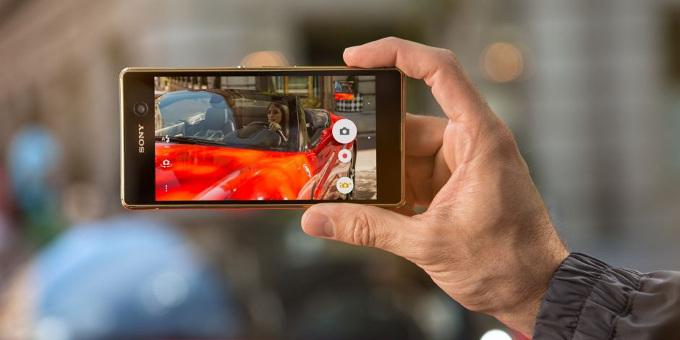 smartphone được trang bị công nghệ lấy nét cực nhanh 3