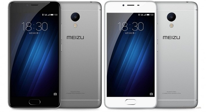 Thiết kế Meizu M3s
