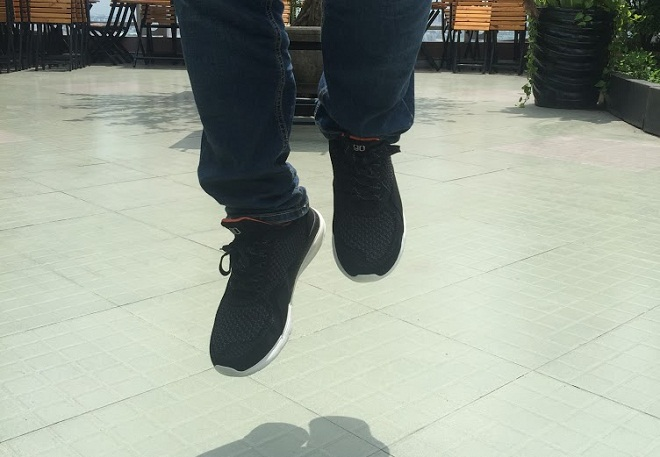 giày thông minh Xiaomi 90 thiết kế