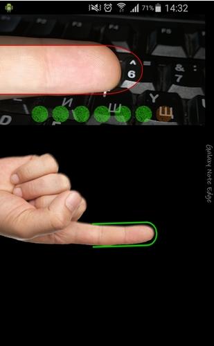 mở, khóa bằng dấu vân tay trên Android 2
