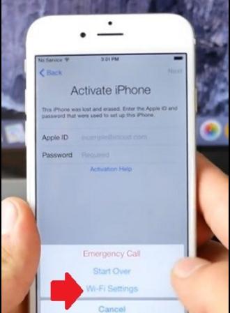 phá khóa iCloud iPhone 6