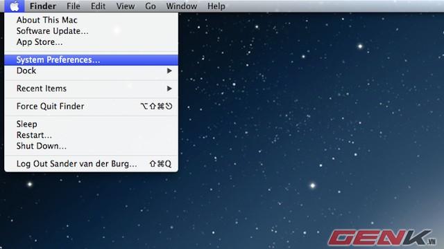 Quản lí dung lượng iCloud trên Mac