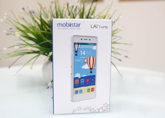 Mobiistar Lai Yuna - smartphone thời trang giá mềm