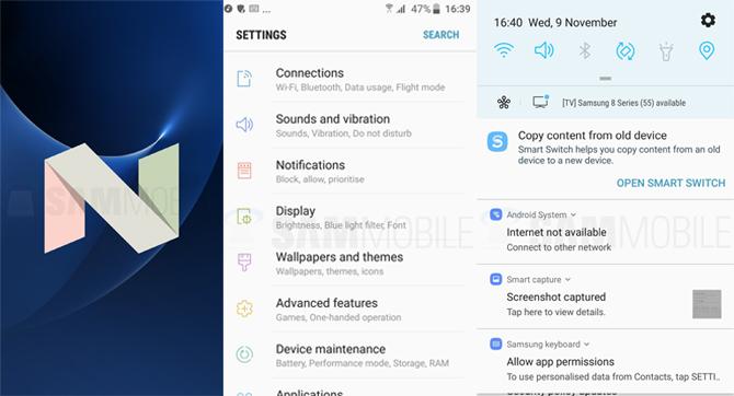 Galaxy S7 được cập nhật Android 7.0 Nougat Beta - 152795