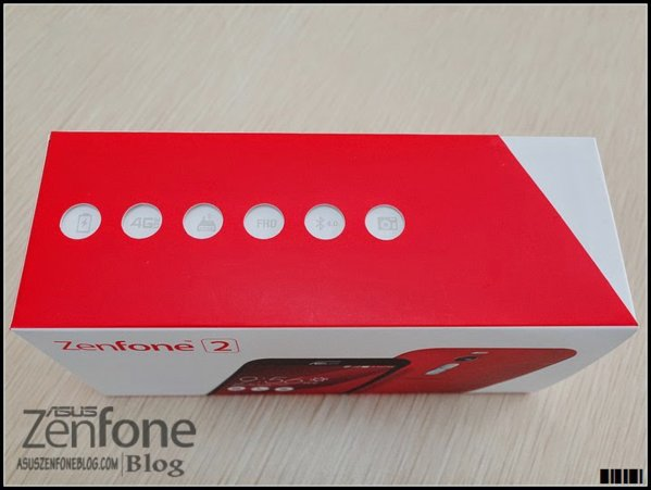 Asus Zenfone 2 bản màu đỏ 2