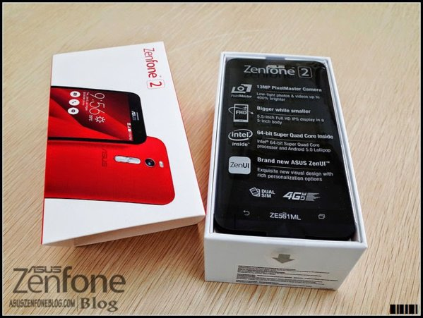 Asus Zenfone 2 bản màu đỏ 3