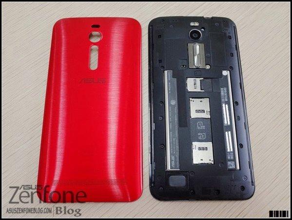 Asus Zenfone 2 bản màu đỏ 8