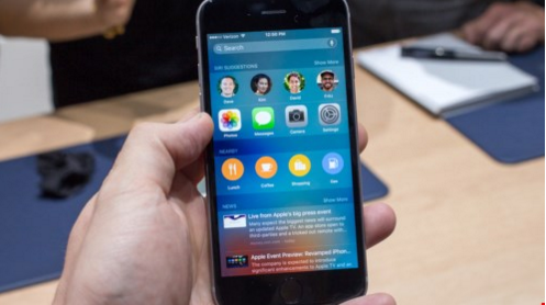 iPhone chạy iOS 9