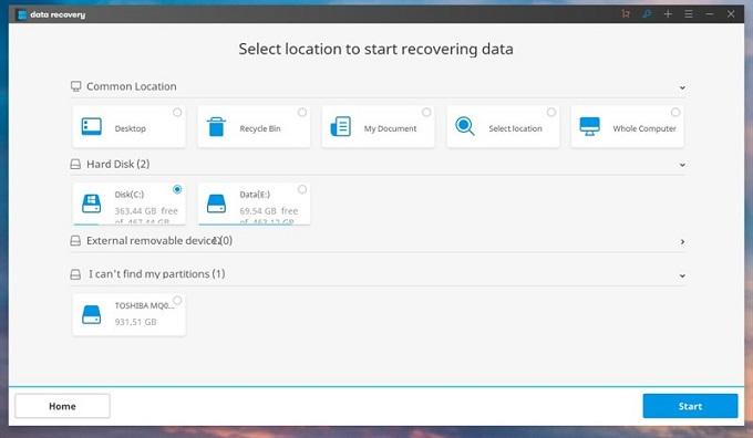Mẹo khôi phục dữ liệu bị xóa: Bước 3