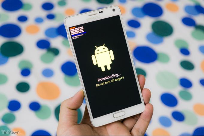 Samsung Note 5 lên Note 4