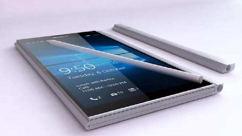 Bản thiết kế của Surface Phone lấy cảm hứng từ Surface Book.