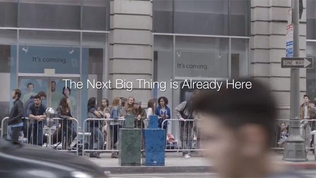 Chiến dịch The next big thing is already here có sức lan tỏa mạnh mẽ.