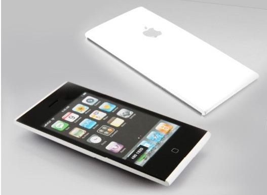 Nguyên mẫu iPhone này giống di động Lumia.