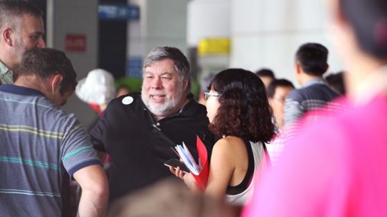 Steve Wozniak - Đồng sáng lập Apple đã đến Việt Nam