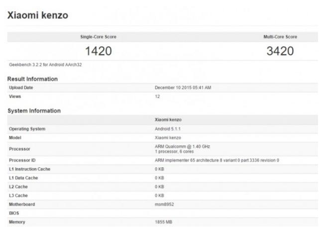 Kenzo – chiếc điện thoại mới đến từ thương hiệu Xiaomi