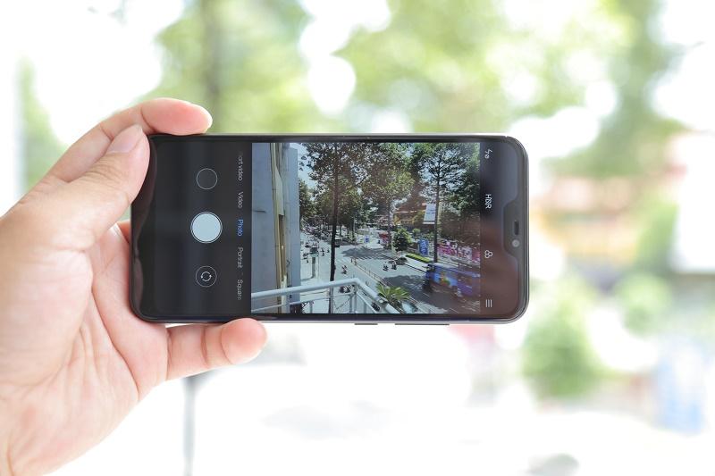 xiaomi redmi 6 pro giao diện camera