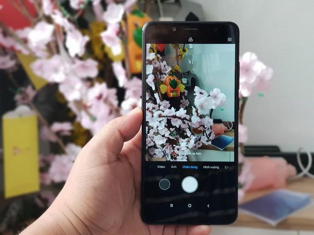Xiaomi Redmi Note 5 giao diện chụp ảnh