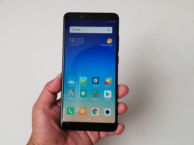 Xiaomi Redmi Note 5 giao diện