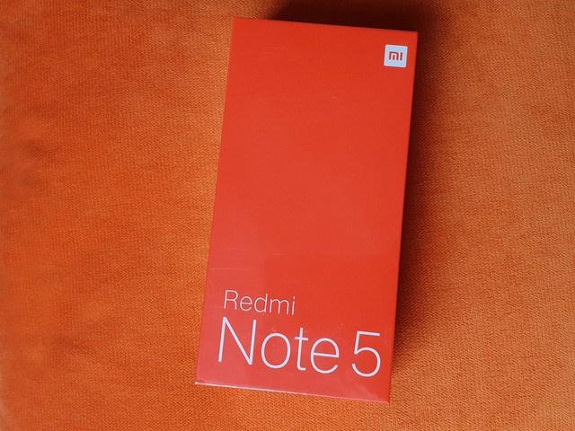 Xiaomi Redmi Note 5 vỏ hộp