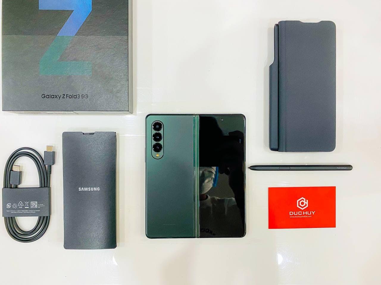 phụ kiện Samsung Galaxy Z Fold 3 5G 512GB