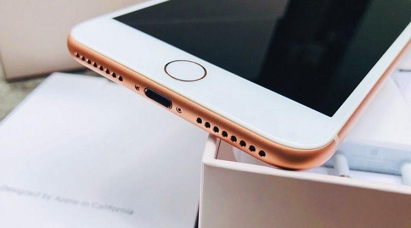 vân tay iPhone 8 Plus