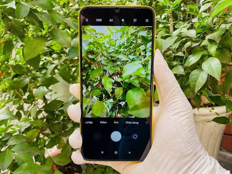 chụp ảnh trên Xiaomi POCO M3