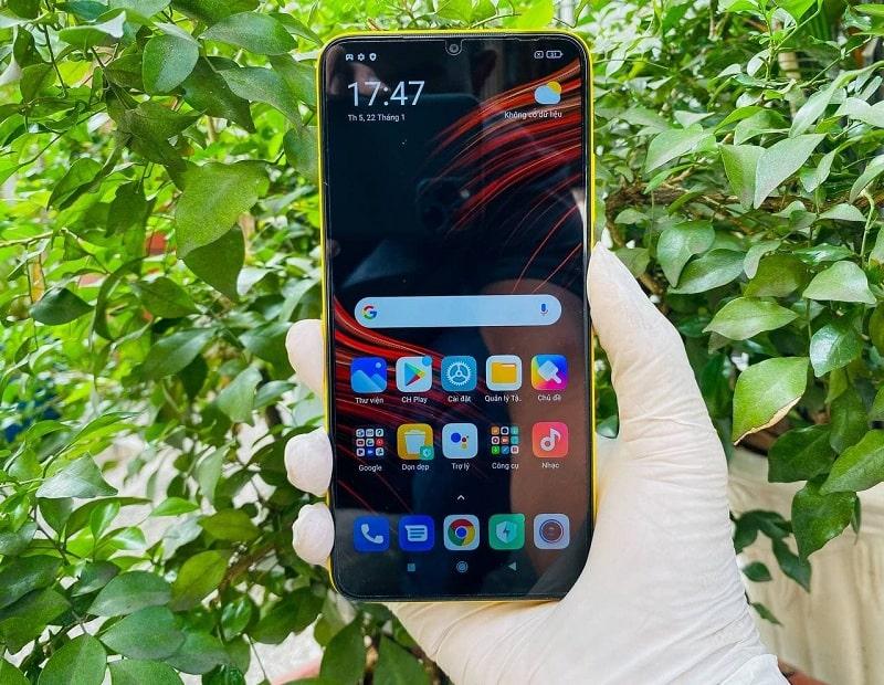 màn hình Xiaomi POCO M3