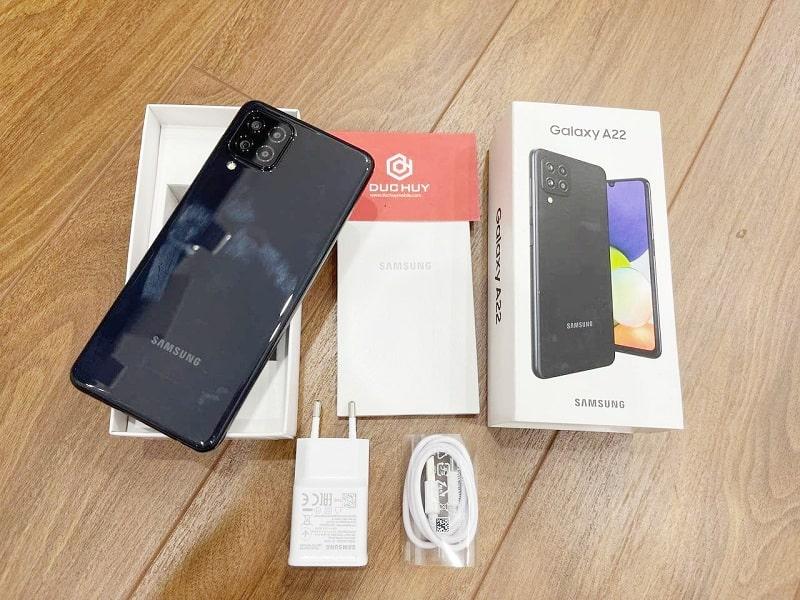 Samsung Galaxy A22 Fullbox