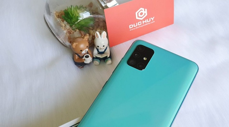camera Samsung Galaxy A51