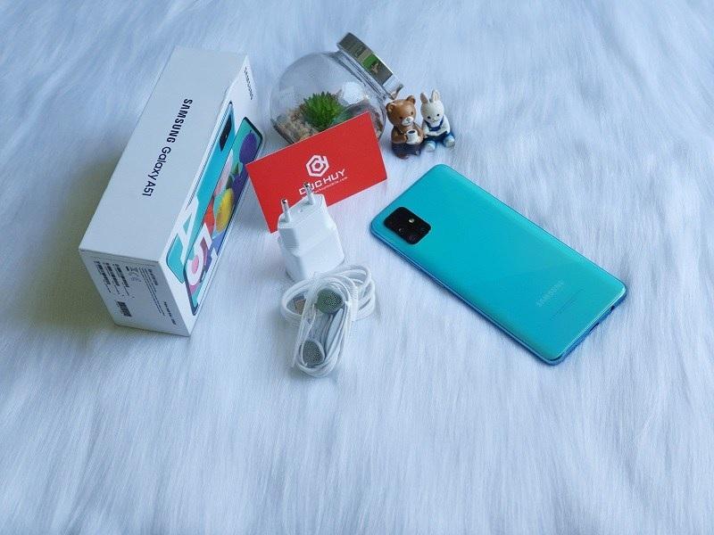 mở hộp Samsung Galaxy A51