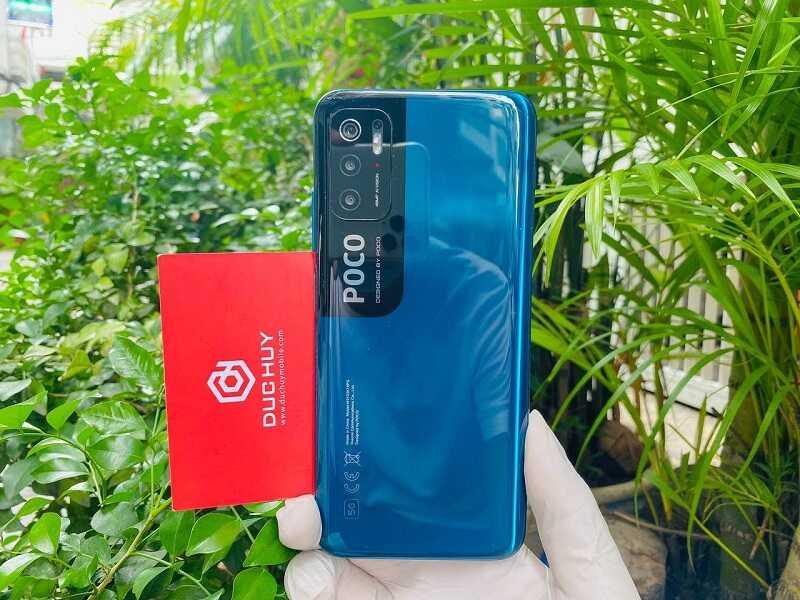 thiết kế Xiaomi Poco M3 Pro 5G