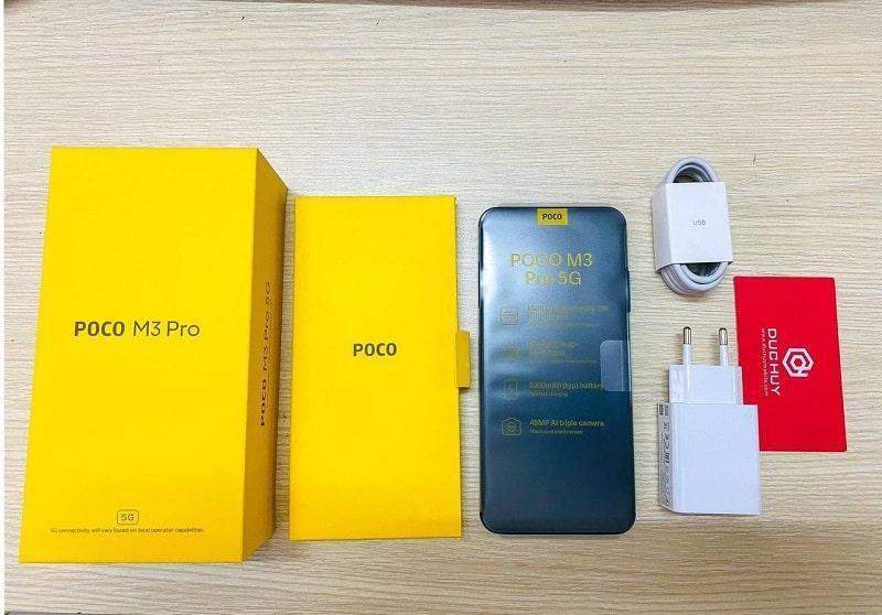 Xiaomi Poco M3 Pro 5G fullbox