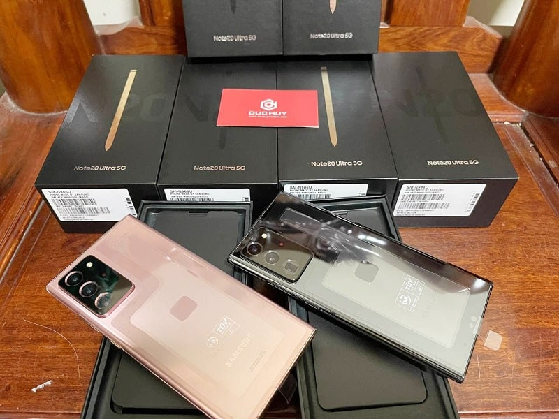 mua Galaxy Note 20 Ultra 5G Mỹ