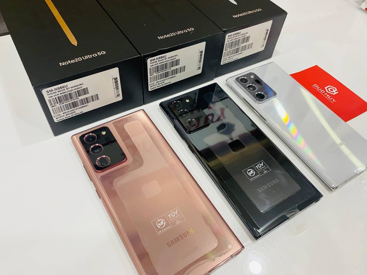 Samsung Galaxy Note 20 Ultra 5G Mỹ đủ màu