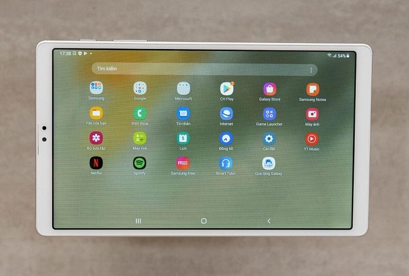 cấu hình Samsung Galaxy Tab A7 Lite