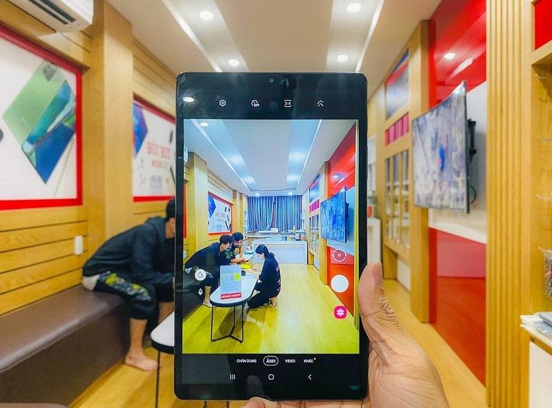 chụp ảnh Samsung Galaxy Tab A7 Lite