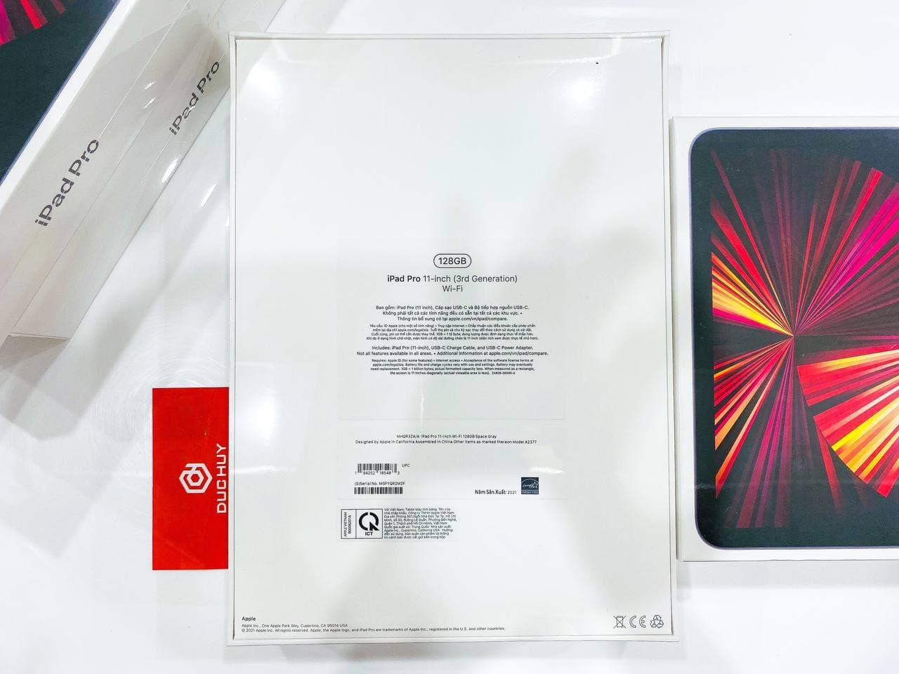 cấu hình iPad Pro 11 2021 M1