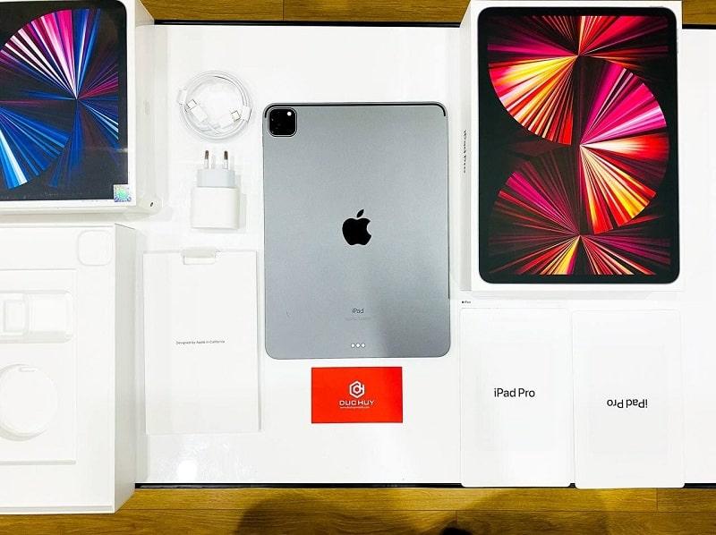 Mở hộp iPad Pro 11 2021 M1 chính hãng